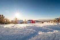 Pohled od Horní Halže.do údolí. Ilustrační foto.