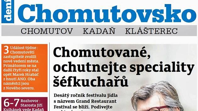 Týdeník Chomutovsko z 27. listopadu 2018