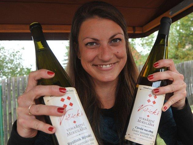První vinobraní ve Stranné.