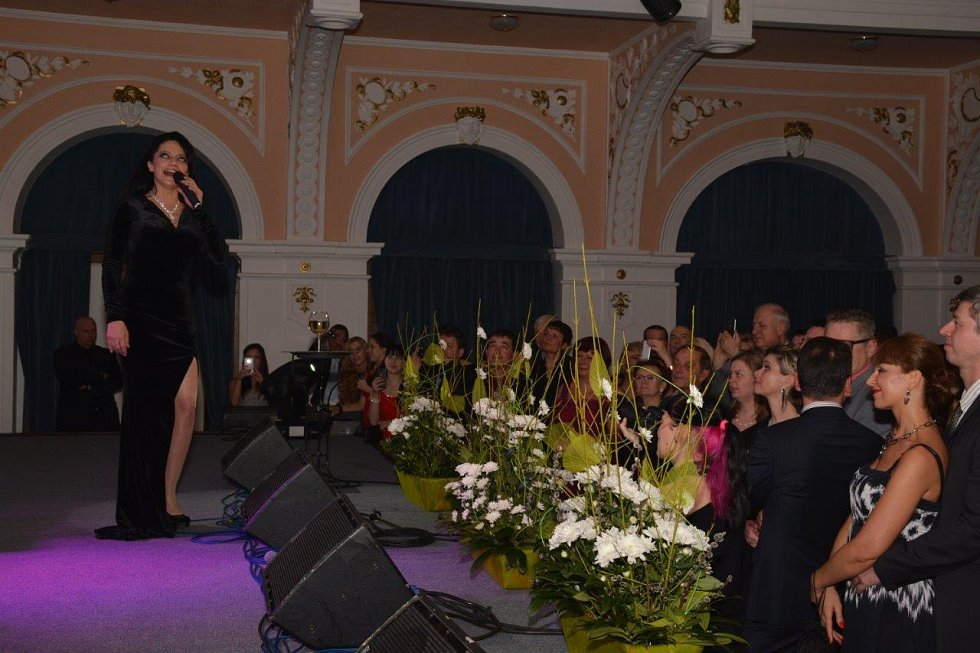Reprezentační ples města Chomutova 2016.
