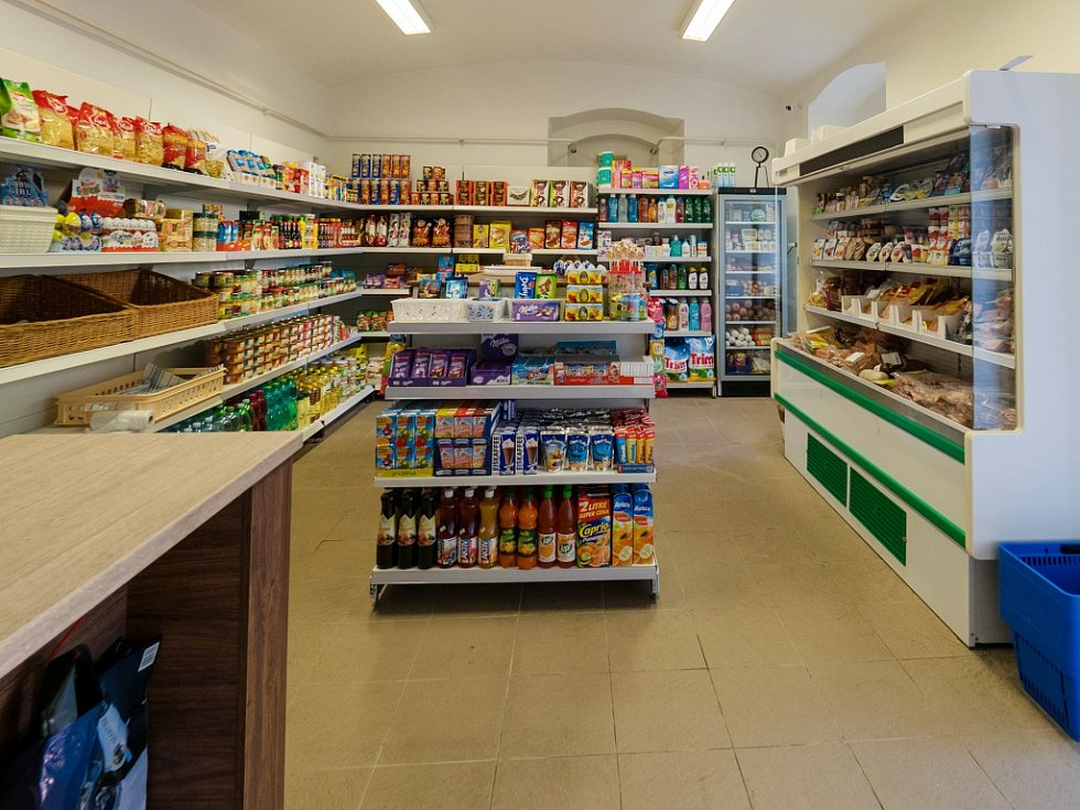Obchod v Nezabylicích u Chomutova