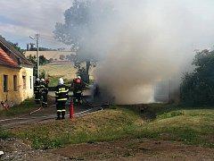 Za požárem nestálo lidské zavinění, ale technická závada.
