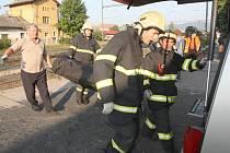 Muže v Klášterci usmrtil projíždějící nákladní vlak. Ostatky našli po dvou hodinách.
