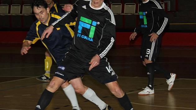 Snímek z utkání FI Okna - 1. FC Kundratice.