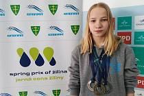 Jitka Hornofová získala na Slovensku tři medaile.