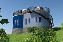 Takto bude vypadat přírodovědná observatoř v Kadani.