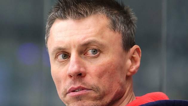 Asistent trenéra Aleš Trotter.