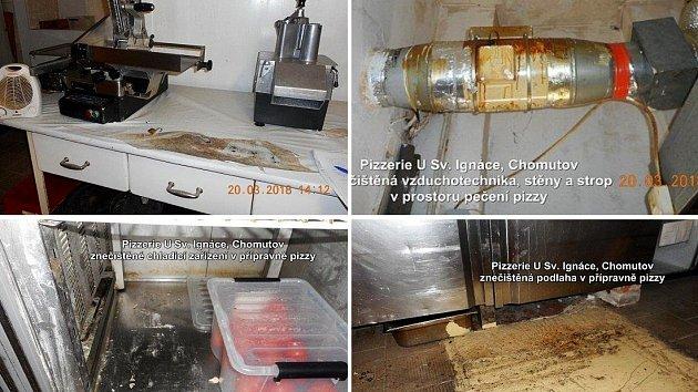 Hygienici zavřeli Pizzerii u Sv. Ignáce v Chomutově