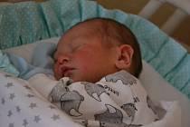 Martin Národa se narodil 27.10. v 16:27 mamince Šárce a tatínkovi Martinovi z Brandova. Martínek měří 50 cm a váží 3 150g.  Foto: Lucie Řezníčková