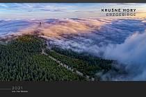 Titulní strana kalendáře Krušnohoří 2021.