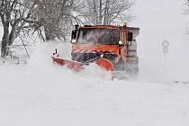 Sněhová nadílka na Lesné, Svahové, Boleboři a v okolí