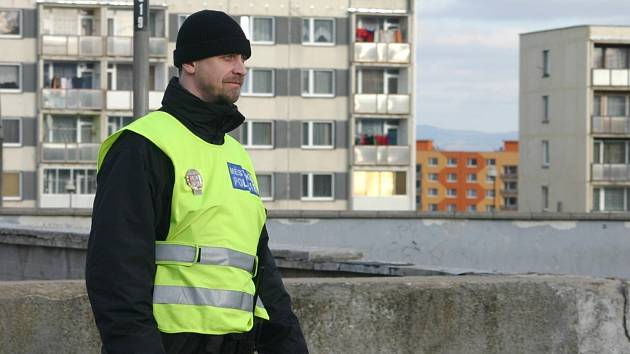 Strážníci chomutovské městské policie mají novou služebnu i na sídlišti Zahradní.