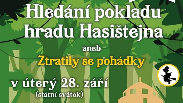 O státní svátek 28. září bude na hradě Hasištejně Pohádkové odpoledne.