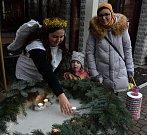 V Klášterci ozdobili strom ještě před adventem
