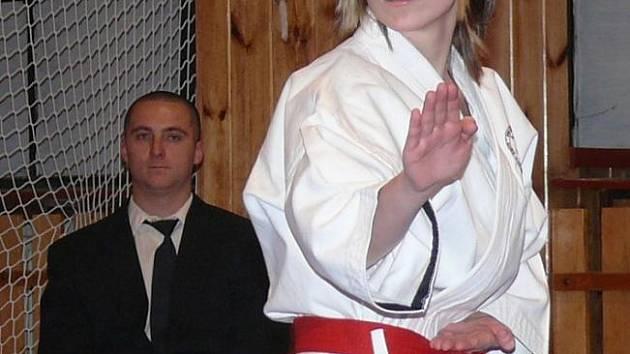 Vítězka Nina Taročková.