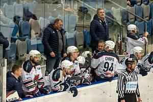 Chomutovským hokejistům se v Porubě nedařilo.