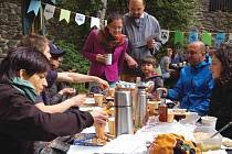 Fair trade snídaně v Kadani.