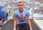 Jakub Štemberk získal na mistrovství republiky pět medailí.