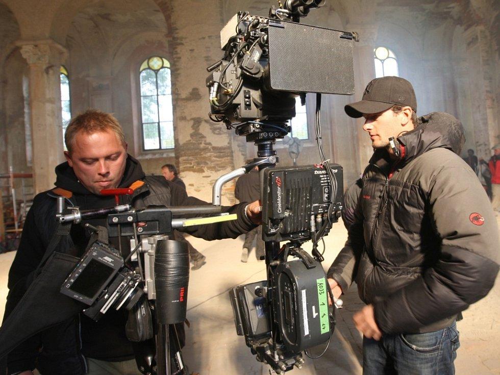 Kameramani při práci.