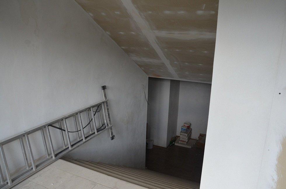 Původní schodiště.