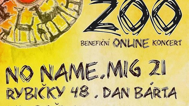 Benefiční online koncert. MIG 21, No Name či Dan Bárta zahrají i pro zoopark.