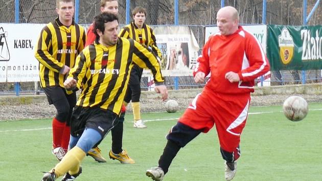 V pohledném okresním derby na sebe v Souši narazily týmy Březenecké a Ervěnic. Březenecká byla favorizovaným Ervěnicím vyrovnaným soupeřem, zápas skončil nerozhodně 2:2.