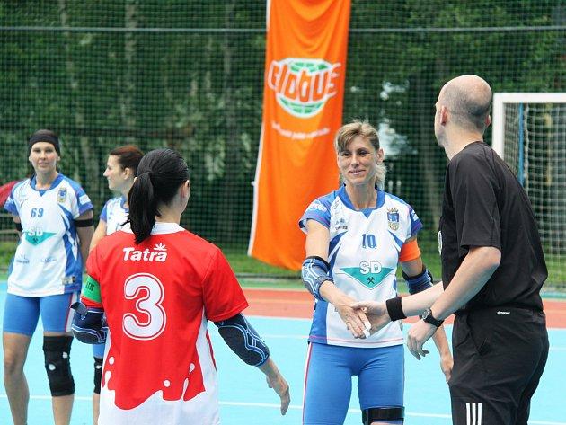 Jaroslava Čihařová odehrála proti Hlinsku poslední zápas kariéry.