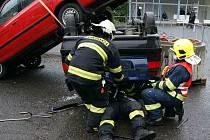 Krajské soutěže v Litoměřicích se zúčastnilo všech sedm hasičských sborů Ústeckého kraje.