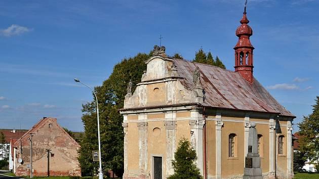 Kostel Povýšení svatého Kříže v Širokých Třebčicích