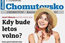 Týdeník Chomutovsko z 22. ledna 2019