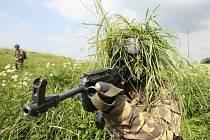 Vojáci na Doupově cvičí na Afriku a Afghánistán.
