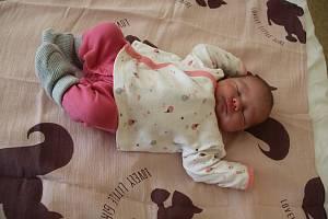 Amálie Slusarčíková se narodila rodičům Pavle Bickové a Radkovi Slusarčíkovi z Jirkova 18.3. Měřila 54 cm a vážila 3,8 kg.