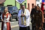 Slavnost krušení proběhla na Měděnci. Havíři si průvodem připomněli slávu kdysi výnosného řemesla.