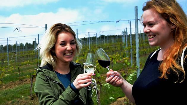 Jarní otevření vinohradů ve Vičicích na Chomutovsku