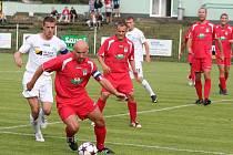 Fotbalisté FC Chomutov k zápasu Ondrášovka cupu.