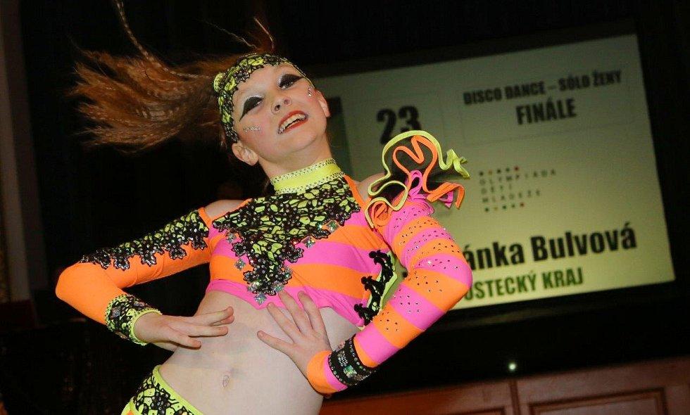 Štěpánka Bulvová (Beethoven DC) získala pro Ústecký kraj v sólu páté místo.
