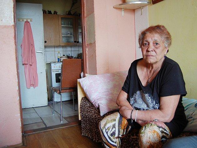 Kristýna Lukáčová (65) žije vPrunéřově pět let. Bydlí ve druhém patře vbytě bez civilizačních vymožeností, což ji zmáhá, proto si přeje přesídlit do Kadaně. Tvrdí, že nikdy nedlužila.