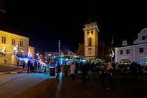 Chomutov připravuje vánoční trhy. Letos však bez slavnostního rozsvícení vánočního stromu a ohňostroje.