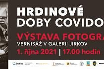 V pátek začne v Galerii Jirkov výstava Hrdinové doby covidové.
