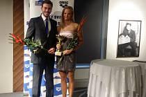 Simona Baumrtová a Tomáš Franta byli oceněni v anketě o plavce roku 2015.