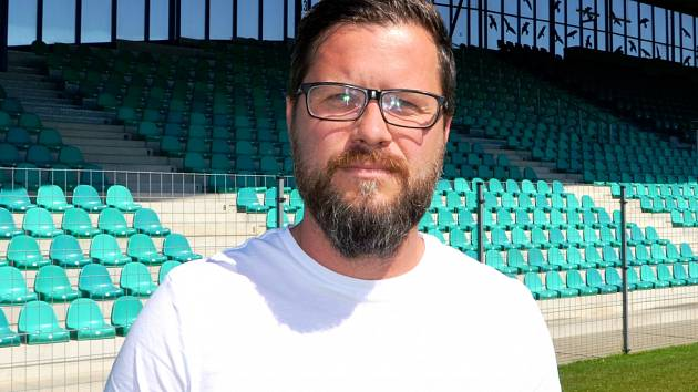 Hlavní trenér týmu Junior Chomutov U12 Pavel Vrátil.