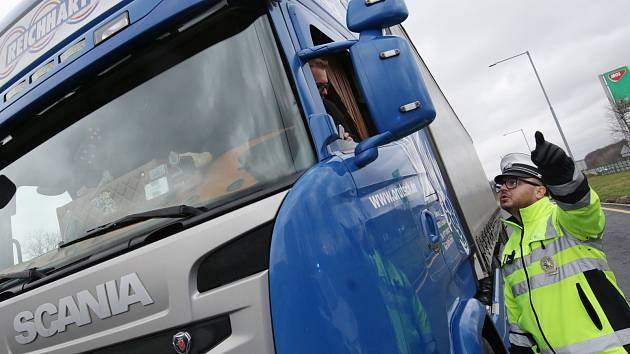 Ilustrační snímek. Kamion