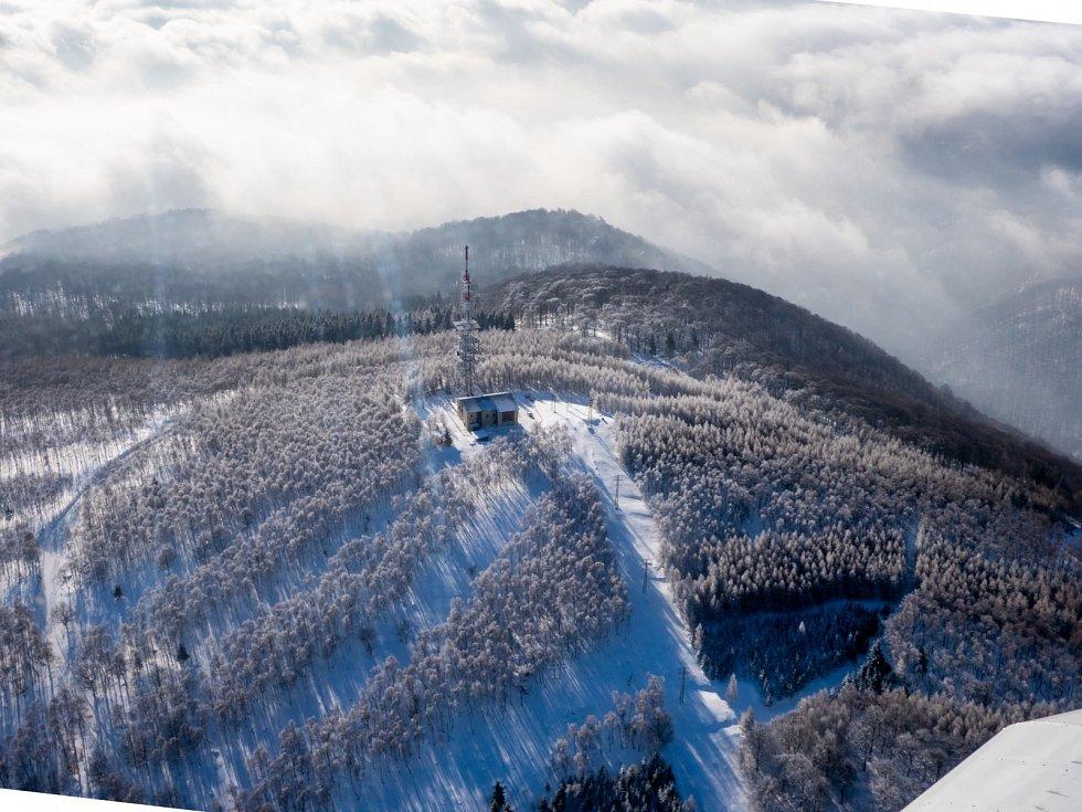 Vysílač Jedlová hora (31.1.2019)