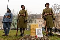 Uctění památky armádního generála a velitele Pražského povstání Karla Kutlvašra