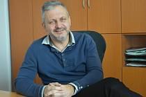 Starosta Perštejna Jiří Rejmann.