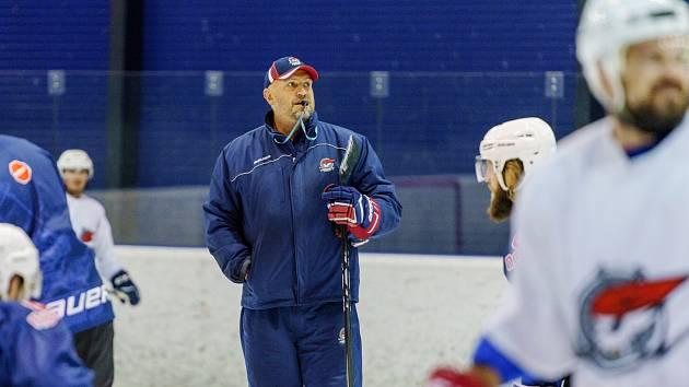 Chomutovský trenér Petr Martínek.