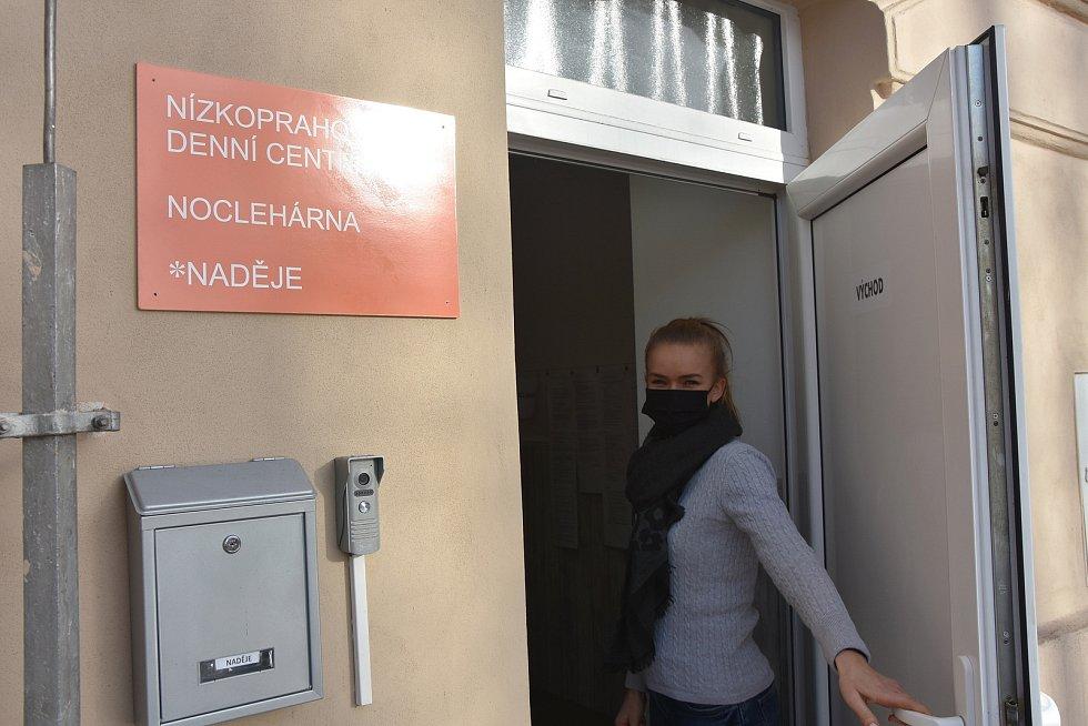 Vedoucí nízkoprahového denního centra a noclehárny v Prunéřově Ivona Lodeová.
