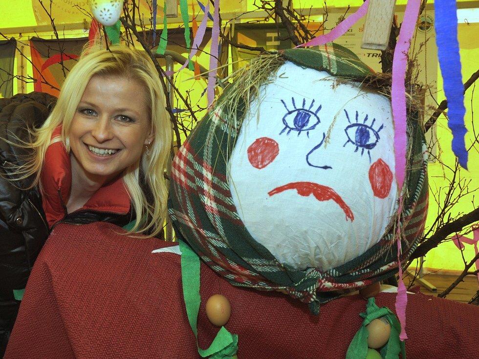 Kateřina Herzánová, organizátorka Velikonočního jarmarku na Lesné.
