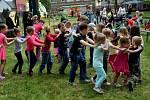Děti se skvělě bavily.