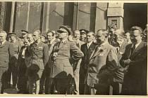 Manifestace za pohraničí Jirkov 1945
